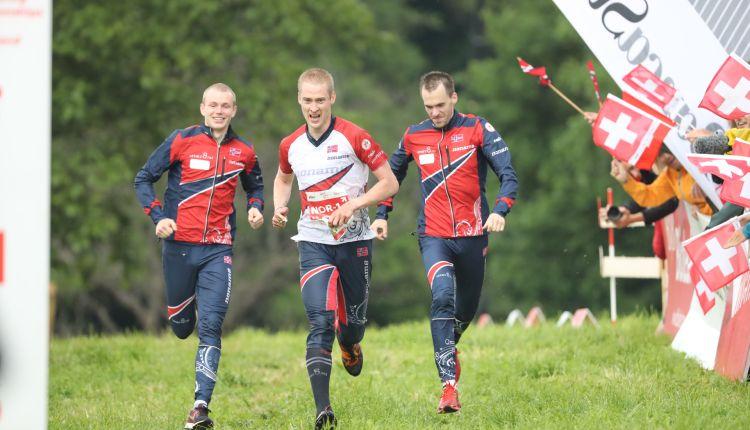 Schweizerinnen und Norweger gewinnen Staffelgold
