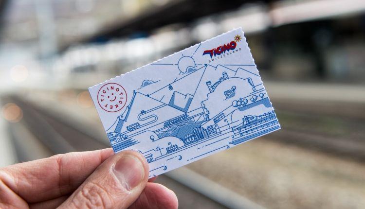Trasporti pubblici gratuiti con Ticino Ticket